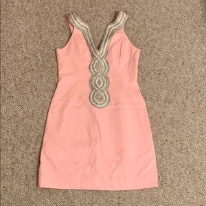 NWOT Lilly Pulitzer Light Pink Valley Shift